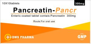 Pancreatin Enteric-Coated Tablets 300mg/Tablet GMP Factory pictures & photos