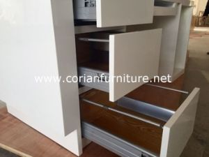 Corian Solid Surface Office Furniture Cabinets Corian Door pictures & photos