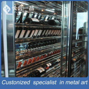 Factory Direct Sale Stainless Steel Wine Multi-Layer Display Rack pictures & photos