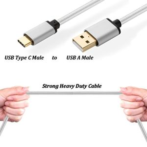Micro-USB Cable, Micro a Male to Micro USB Type C for Charging and Data Tansfer with High Speed and Durable Material pictures & photos
