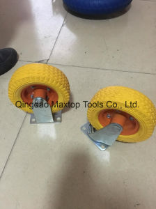 Sunstar 325-8 Flat Free PU Foam Wheel pictures & photos