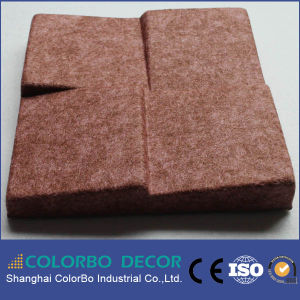Meeting Room Polyester Fiber Decorative Fabric Acoustic Panel pictures & photos