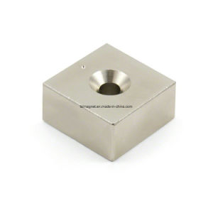 High Performance Sintered NdFeB Countersunk Magnet pictures & photos