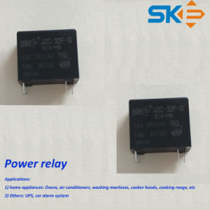 24V, 0.2W High Capacity Power Relay with UL, TUV (JZC-32F)