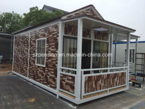 Portable Simple Vacation Mobile Prefabricated/Prefab Villa for Large Quantity pictures & photos