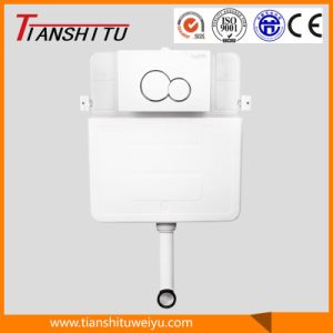 T80B in-Wall Cistern Watermark Concealed Cistern for Wall-Hung Toilet Dual Flush Front Button, Cistern pictures & photos