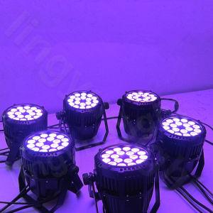 Color Change IP65 Waterproof 18X10W LED PAR Light pictures & photos