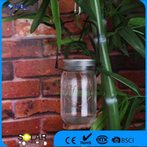 Glass&Plastic High Quality Solar Glass Jar pictures & photos
