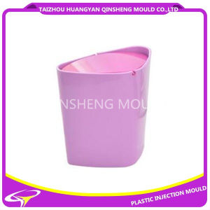 Plastic Round Swing Lid Dustbin Mould pictures & photos