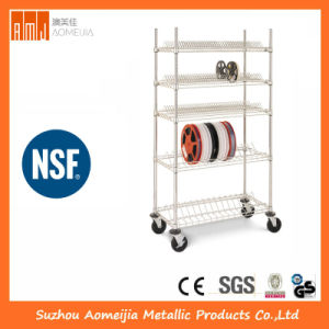 Metal Wire Display Exhibition Storage Reel Shelving for Poland pictures & photos
