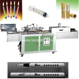 Round Surface Automatic Screen Printer on Pens with IR Oven pictures & photos