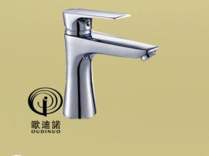 Oudinuo Brass Single Handle Basin Mixer & Faucet 69111-1 pictures & photos