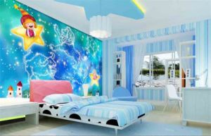 Star Ceiling Mural Wallpaper Personalized Wall Paper Themed Bar Room Ceiling Walls of Galaxies Wallpapers pictures & photos