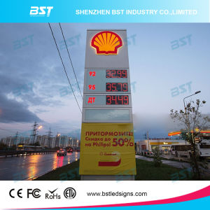 Outdoor High Brightness LED Gas Price Sign pictures & photos