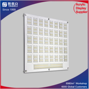 Acrylic Staff Photo Board, PMMA Staff Boards with Name Pockets pictures & photos