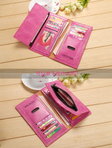 Women′s Long Wallet Wallet Card Package Female Wallet Tide pictures & photos