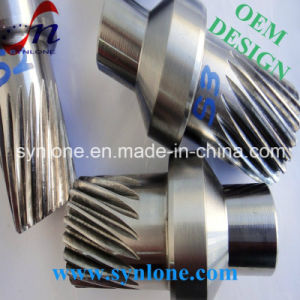 CNC Machining Steel Gear Shaft pictures & photos