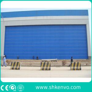 PVC Fabric Lifting Folding up Aircraft Hangar Door pictures & photos