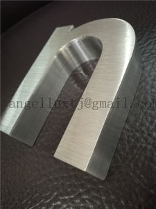 Non Illuminated Brushed Stainless Steel Letter Sign 3D Letters in Stainless Steel pictures & photos