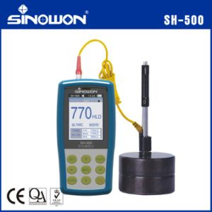 Color Screen Ultrasonic Leeb Portable Hardness Lab Equipment pictures & photos
