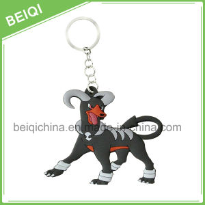 New Design Soft Pvs Key Chain, PVC Rubber Key Chain, 3D PVC Key Holder pictures & photos