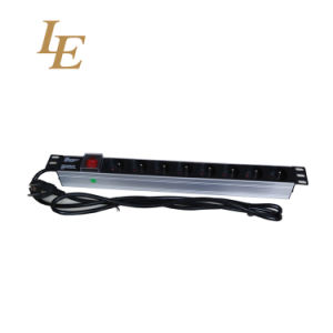 France Type 6 Way PDU Socket Nerwork PDU with Switch pictures & photos