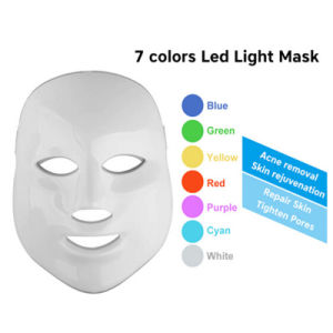 7 Colors LED Mask Skin Care LED Light Therapy pictures & photos