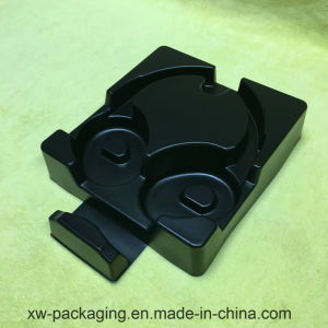 Middle Black Blister Packing Tray for Headset pictures & photos