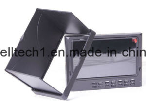 "7dii/O 7"" HDMI in & out Monitor High Resolution 1024X600 with Peaking Filter (7DII/O) pictures & photos"