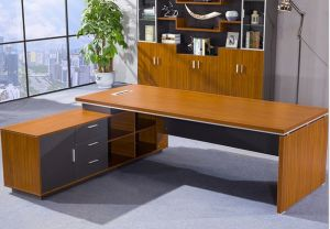 Hot Sell China Factory Cheaper Price Melamine Office Table (HX-NCD220) pictures & photos
