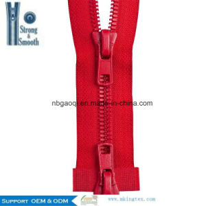 #5 Plastic Zipper C/E a/L Wholesale Price Hot Sale pictures & photos