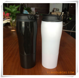 Double Wall Plastic Suction Tumbler (HA09246) pictures & photos