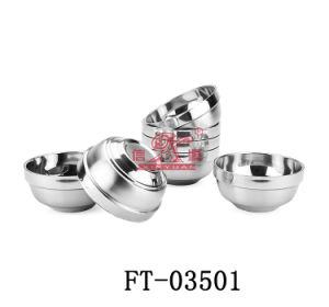 Stainless Steel Food Bowl (FT-03501)