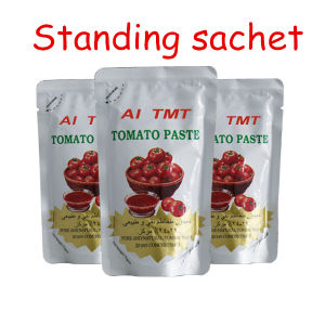 Sachet Tomato Paste with High Quality No Additive pictures & photos