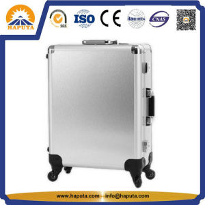 Professional Sliver Makeup Train Case with Fold out Trays (HB-6402) pictures & photos
