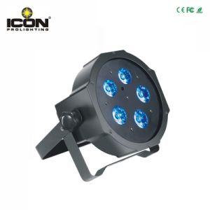 5X10W RGBW 4in1 LED Mega PAR Light pictures & photos