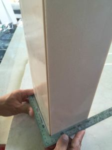 Beige Engineered Artificial Stone for Wall pictures & photos