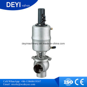 """Ss316L Sanitary 3-Way Pneumatic Valve, 2"""" Ferrule Type pictures & photos"""