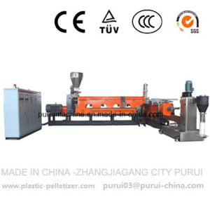 PE Bottle Regrind Flakes Granulation Machine pictures & photos
