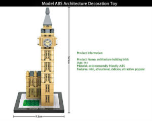 6731004-Elizabeth Tower World Assembly Toy pictures & photos