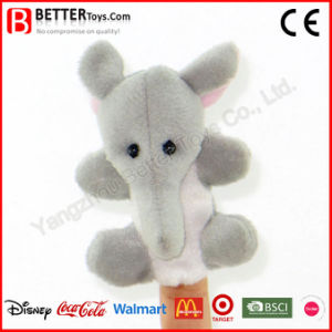 Plush Toy Stuffed Elephant Finger Puppet for Baby/Children/Kids pictures & photos