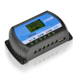 40A 12V/24V Solar Panel Battery Charge Controller with USB-5V/3A Rtd-40A pictures & photos