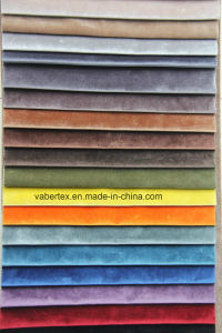 Household Textile Polyester Upholstery Woven Velvet Curtain Pillow Sofa Fabric pictures & photos