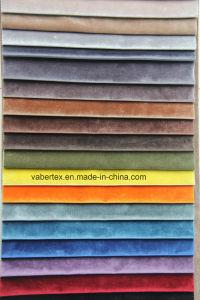 Household Textile Polyester Upholstery Woven Velvet Curtain Pillow Sofa Fabric