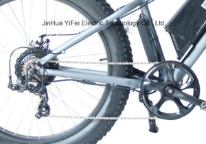 High Power 26 Inch City Fat Tire Electric Bike with Lithium Battery pictures & photos