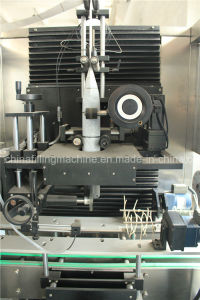 Automatic PVC Label Sleeving Thermal Shrinking Equipment pictures & photos