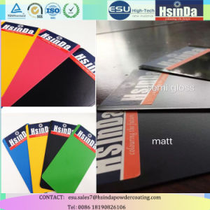 Decorative Epoxy Polyester Paint Ral Color Matt Powder Coating pictures & photos