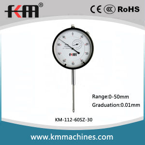 Wide Range 0-50mm Mechanical Dial Indicator Professional Supplier pictures & photos