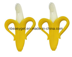 Banana Toothbrush with Handles Baby Toothbrush Infant Toothbrush pictures & photos