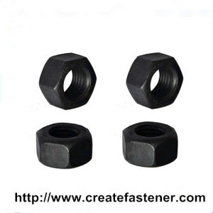DIN6915 Carbon Steel Black High-Strength Hexagon Nuts pictures & photos